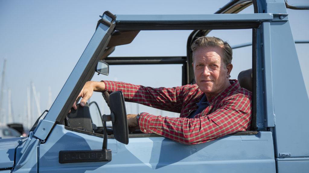 Peter Mygind har hovedrollen i TV2's krimiserie Sommerdahl. Foto: Mike Kollöffel/TV 2